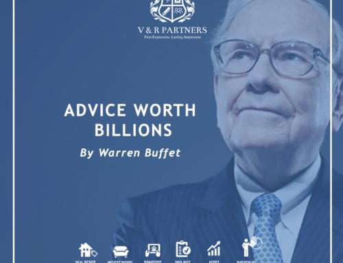 Advice Worth Billions By Warren Buffet