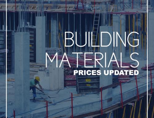 Building Material Price Update (June 2021)